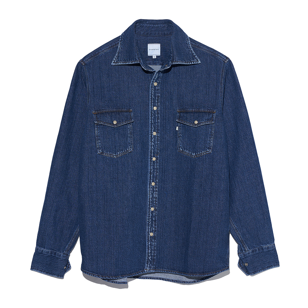 Denim shirt - Blue