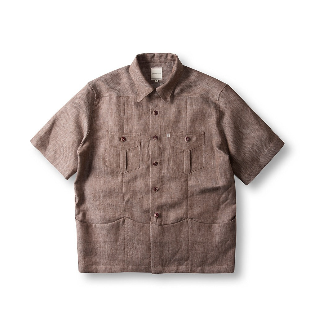 Overfit Shirket - Brown